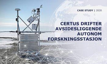 Iridium Certus® bistår i innsamlingen av vital biologisk data