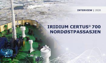 Iridium Certus 700 I Nordøstpassasjen