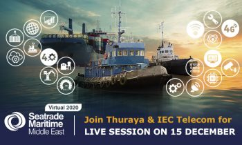 IEC Telecom & Thuraya to host a session at Seatrade Maritime Middle East 2020 Virtual Conference