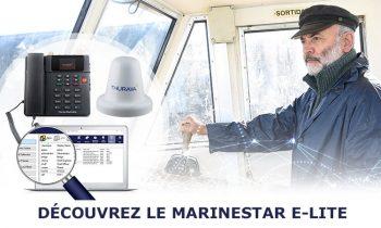 MarineStar E-Lite offre des connectivités à moindre coût pour les bateaux de petite taille